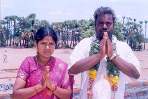 Sre Bhaaskharan Guruji and Mrs Revathi Guruji thanks to all Devotees