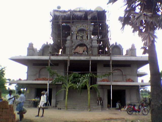 Front view of Sre Kagabujandar Temple