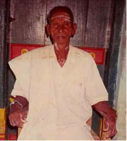 Paternal Grand Father of Sre Bhaaskharamaharishi