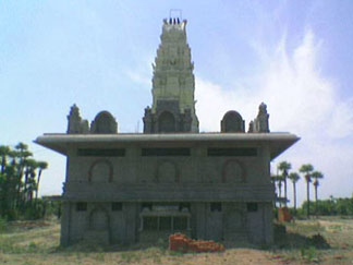 Back View on 22-June-2006 Sre Kagabujandar Guru Temple