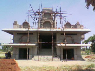 Front View on 22-June-2006 Sre Kagabujandar Guru Temple