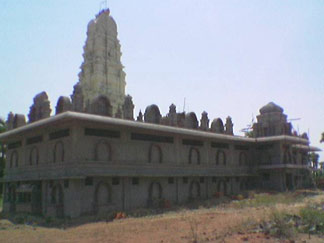 South West view of Sre Kagabujandar Guru Temple