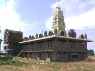 North West View on 22-06-2006 Sre Kagabujandar Guru Temple